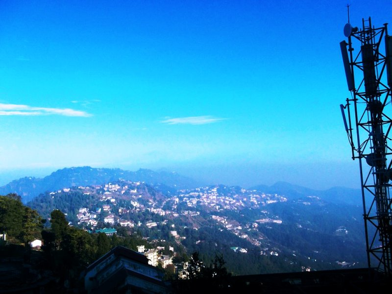 A morning in Mussoorie