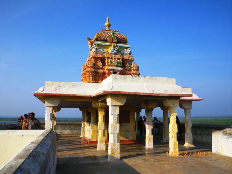 RamarPatham Temple at Gandhamathana Parvatham