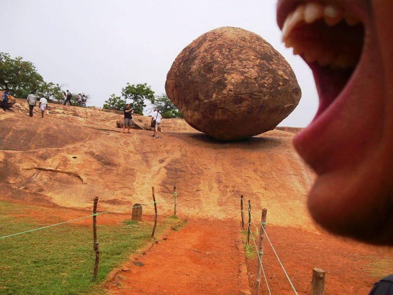 Mahabalipuram butter ball