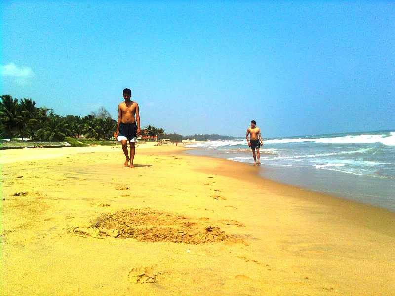 Mahabalipuram or Mamallapuram beaches