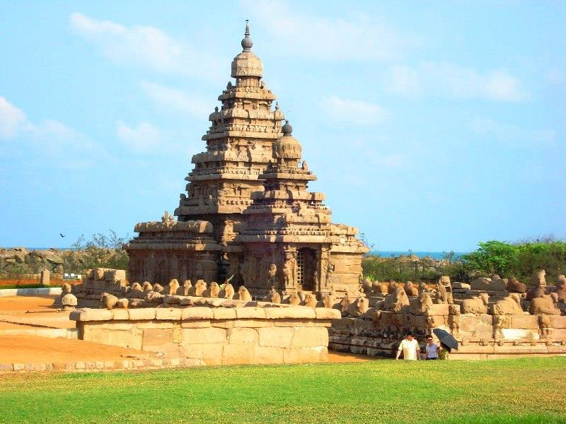 Mahabalipuram or Mamallapuram shore temple