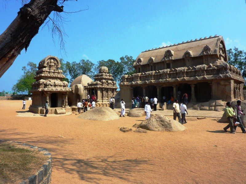 Mahabalipuram or five rathas