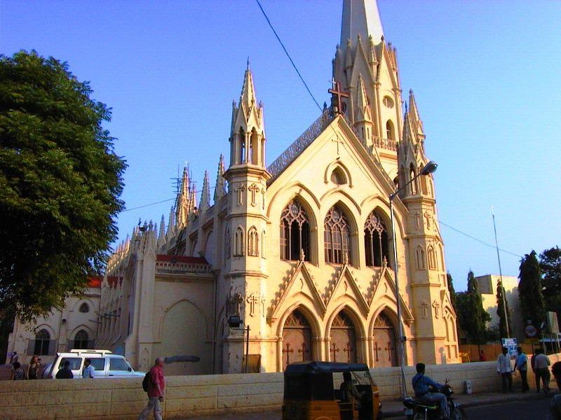 Santhome basilica church, chennai, mylapore