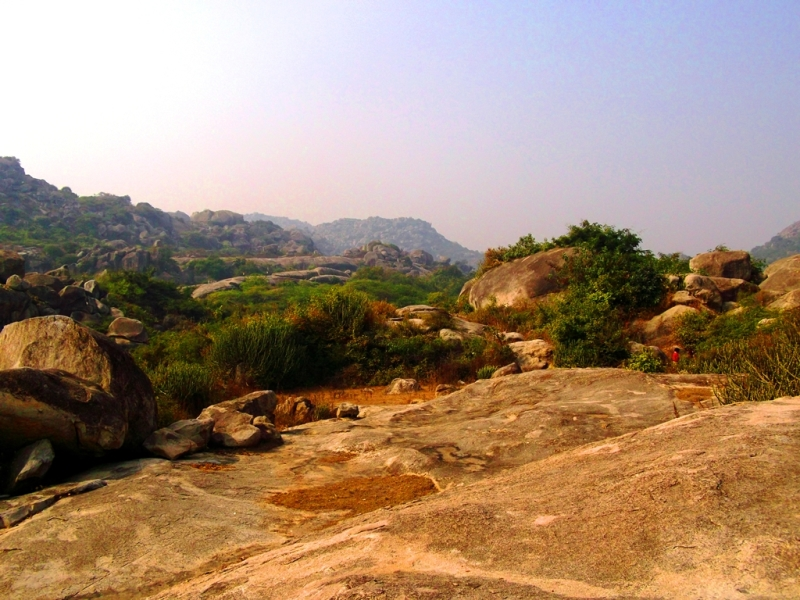 Barabar hills' surroundings