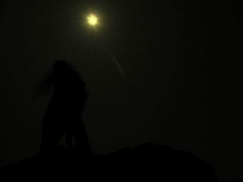 Full moon night trek
