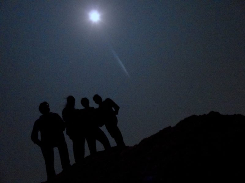 Kunti betta full moon night trek