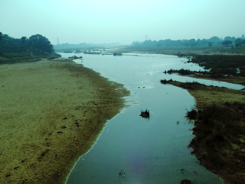 Niranajana aka Falgu river in Winter morning