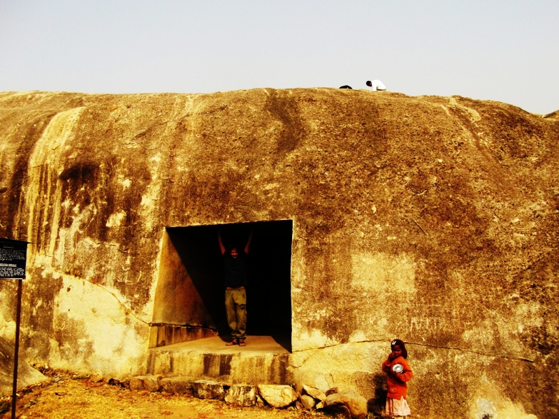 one of the Barabar caves