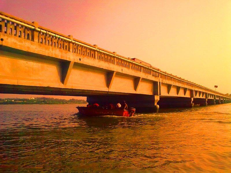 ECR bridge from Muttukadu boat house