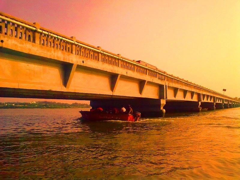 ECR bridge from Muttukadu boat house