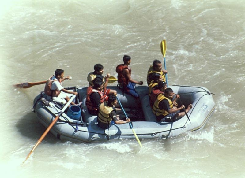 River Rafting, Teesta