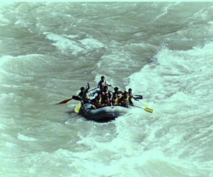 River rafting Teesta, SIkkim