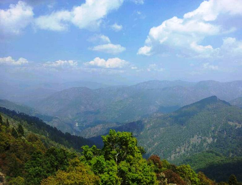 Nainital hill ranges