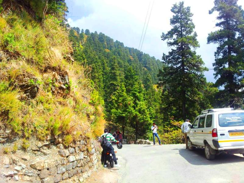 On the way to Nainital