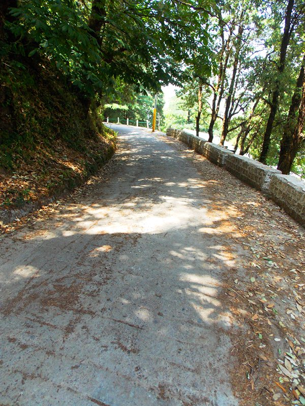 Behind St. Paul's- The most lonely street of Mussoorie