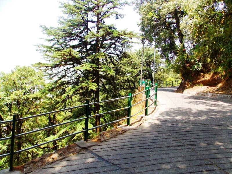 Lonely streets after Landour