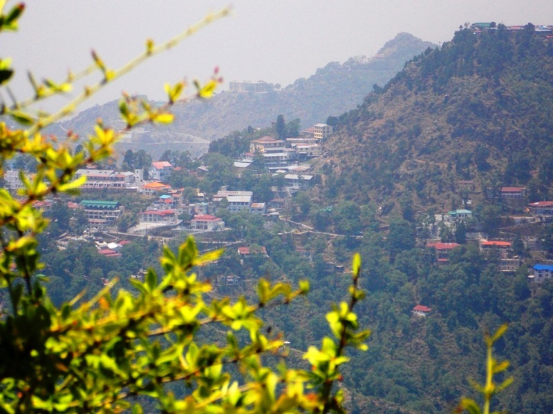 Mussoorie from Lal Tibba