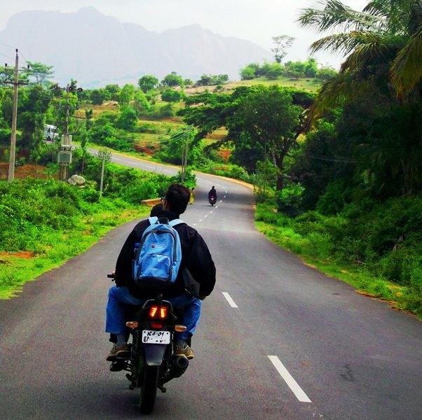 On the way to savanadurga