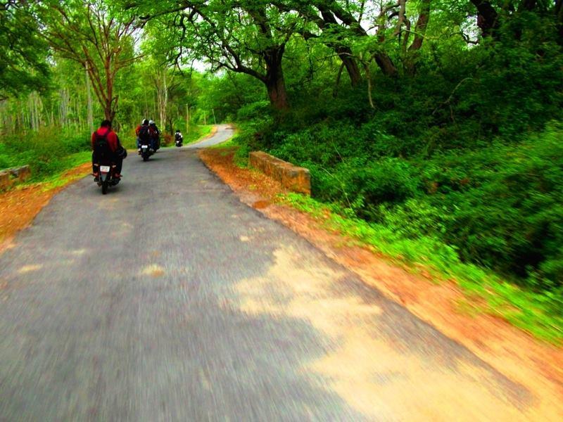 from savanadurga to manchanbele dam