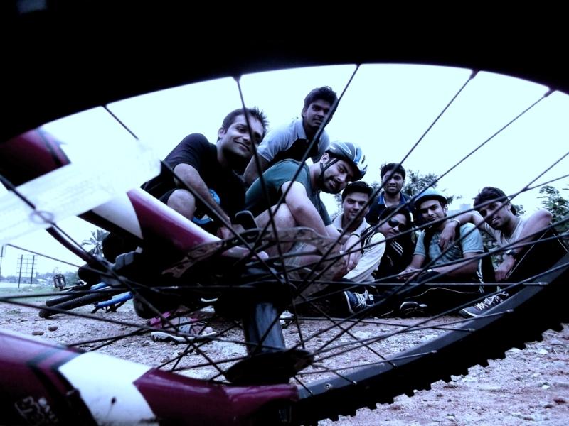 At nice ring road, bangalore