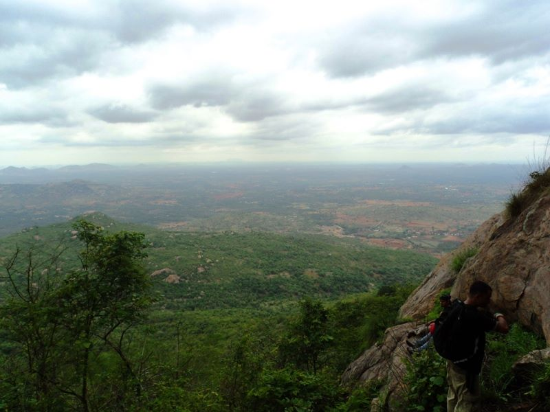 Bilakal forest from rangaswamy betta peak