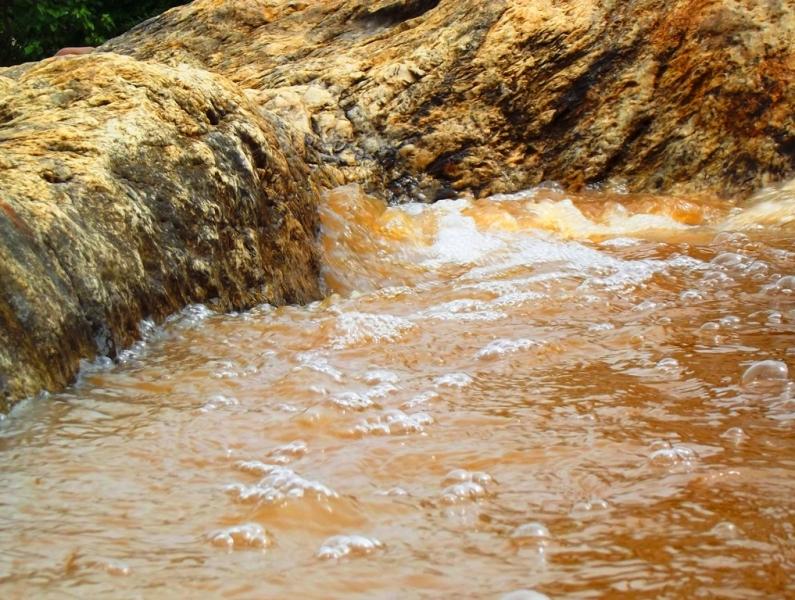 Monsoon water of the TK falls