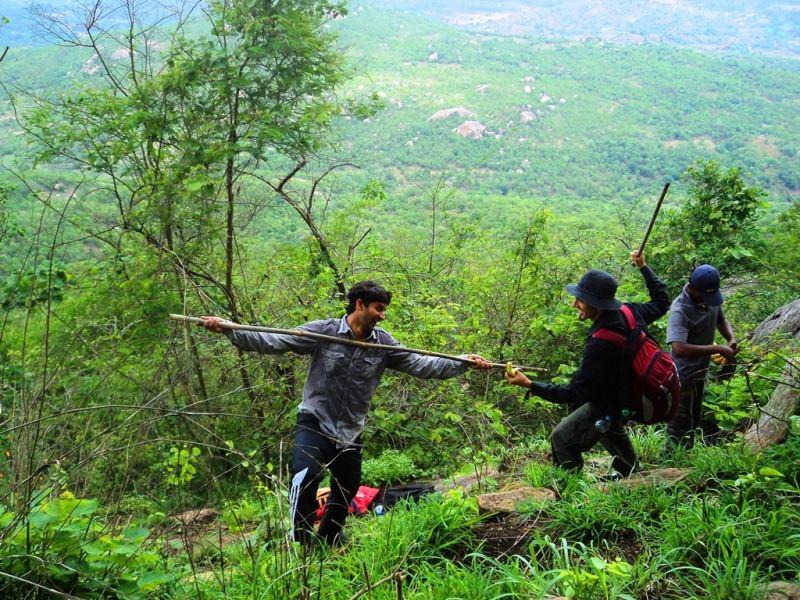 rangaswamy betta trekking