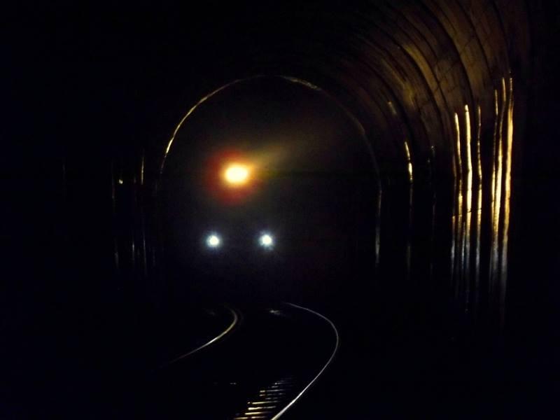A train inside a tunnel, sakleshpur trek
