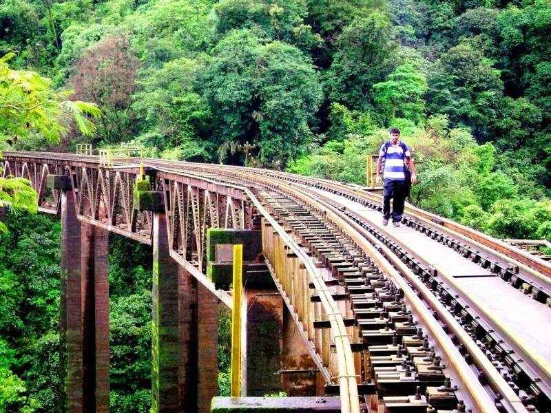 railway bridge, sakleshpur trek