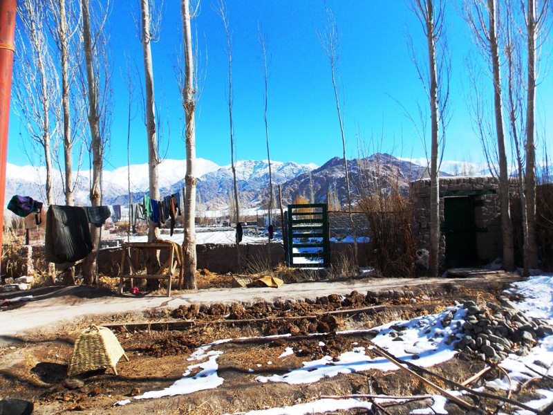 A potter house in Leh