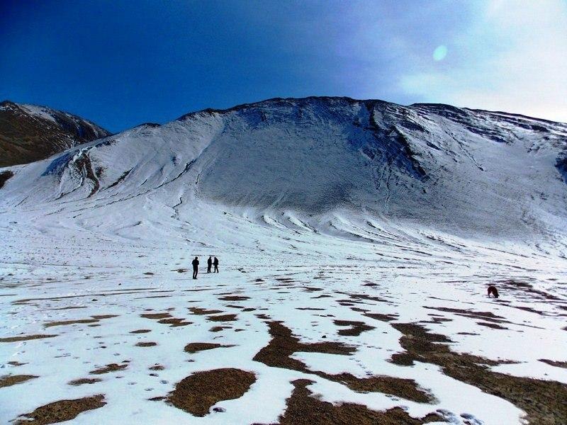 Around magnetic valley on the way to Zanskar