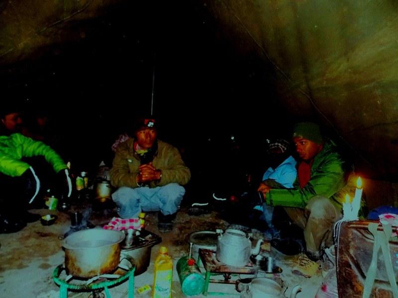 Camping, Zanskar valley trek