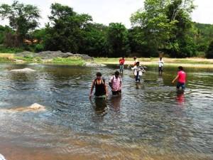 Crossing Sangama