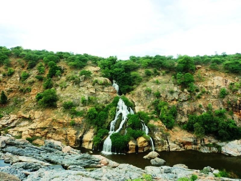 Little ahead of chunchi falls