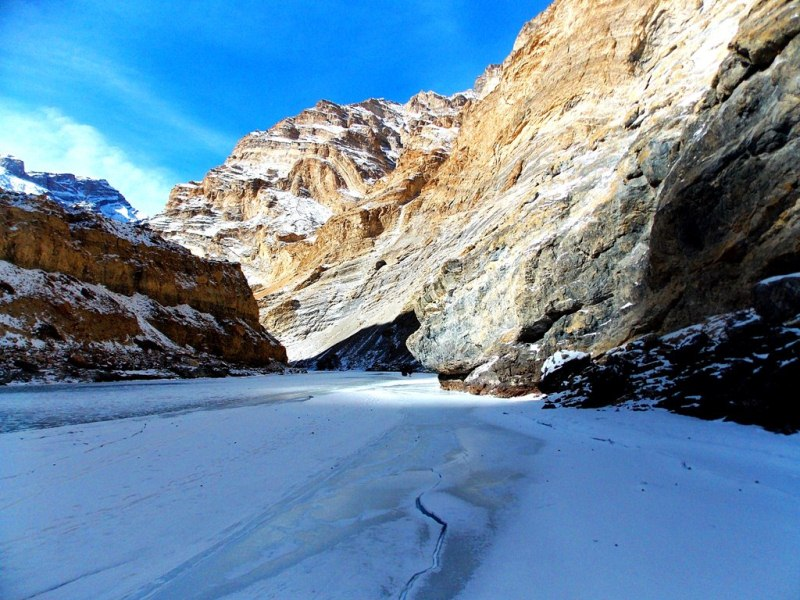 Zanskar valley, chadar trek
