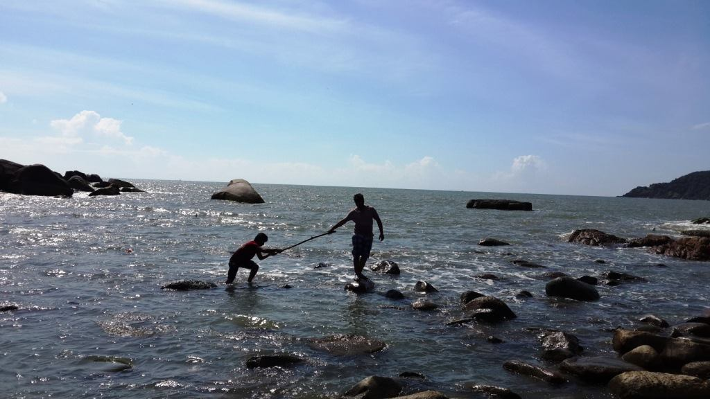 At island in Goa