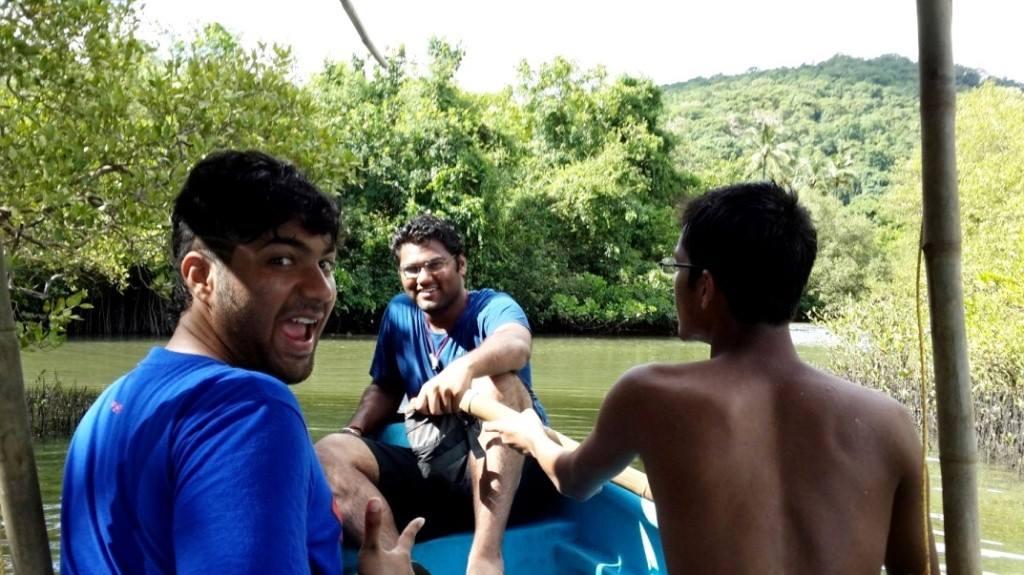 Boating in Backwaters, Goa