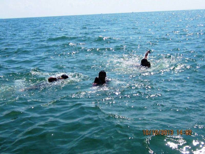 Deep Sea Swimming Goa