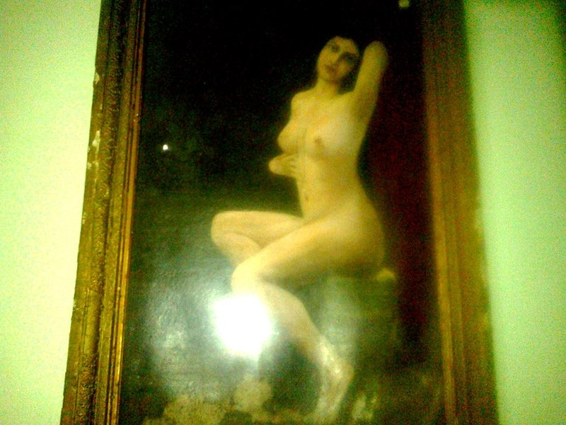 Nude art or nude painting, Bangalore palace