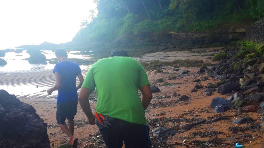 On the way to colongute island, Goa