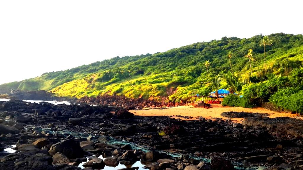 The siland in Goa
