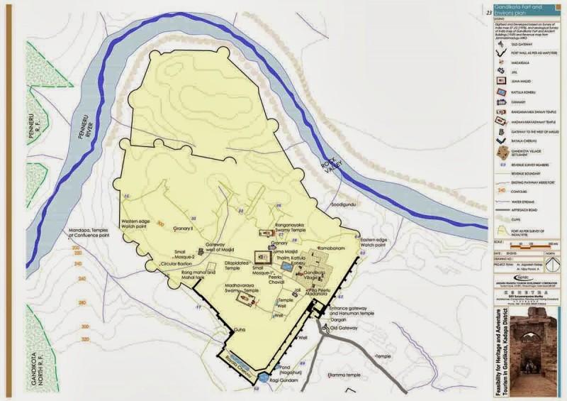 Gandikota-Map