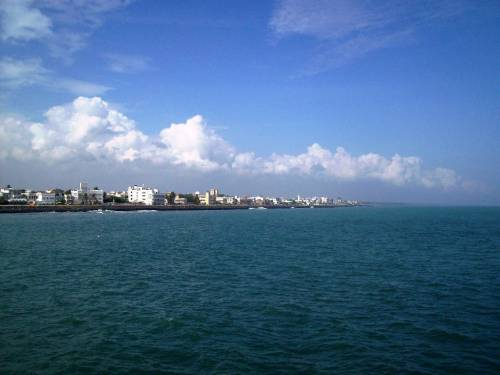 City-of-Pondicherry-from-Naval-dockyard-port
