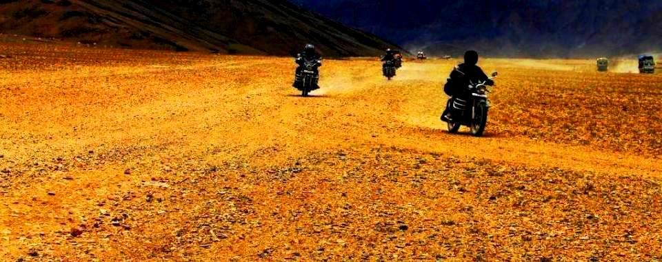 Bike ride from Manali to leh