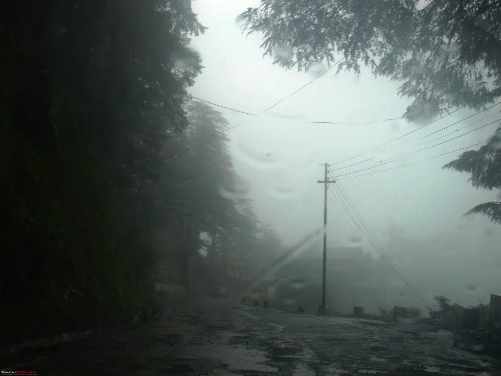 Chail and the fog