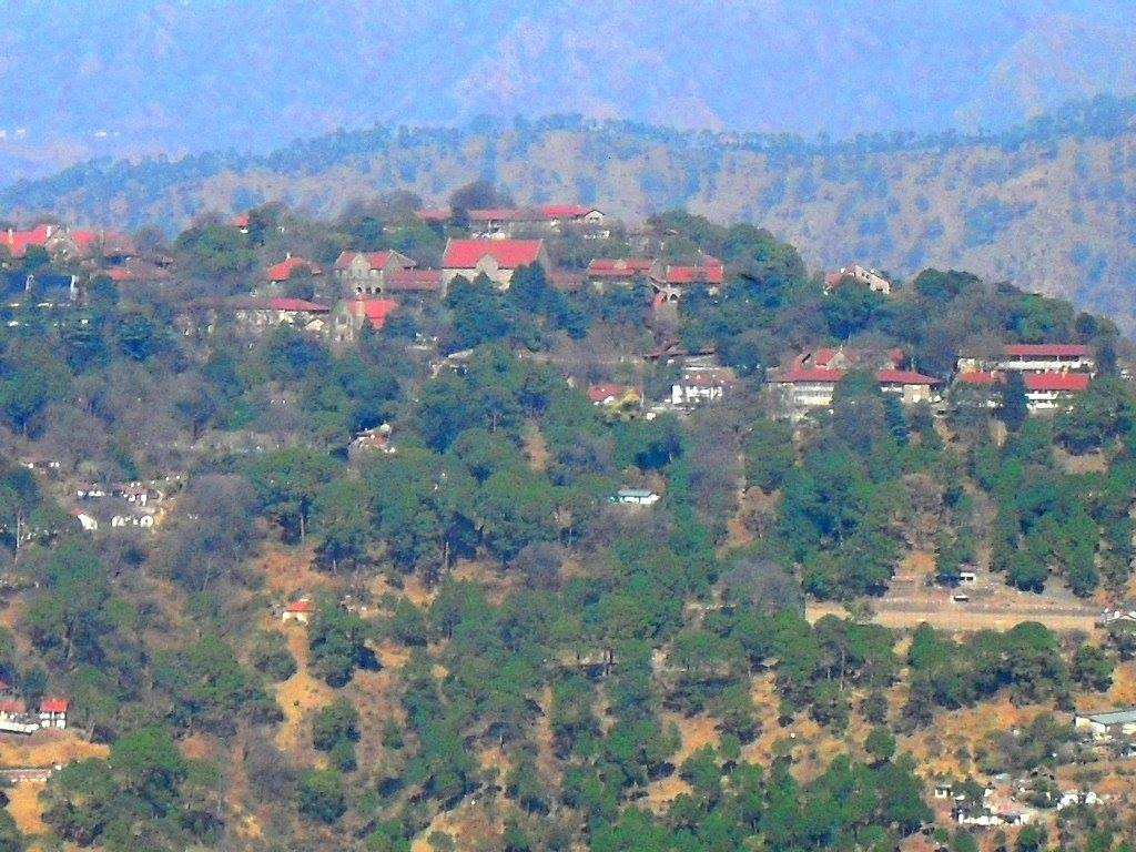 Lawrence school seen from Kasauli