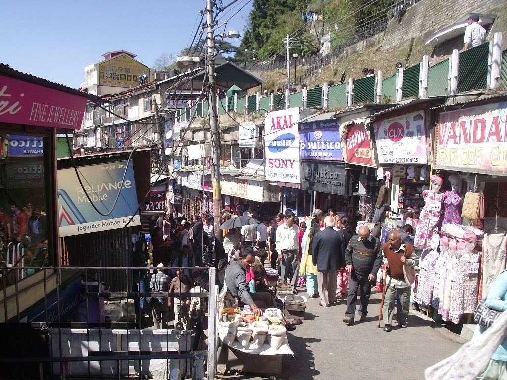 Lower bazaar Shimla
