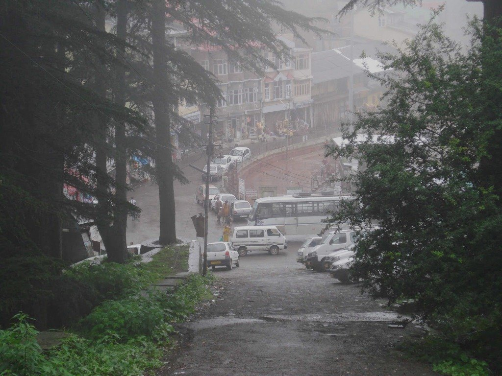 Shimla under rains