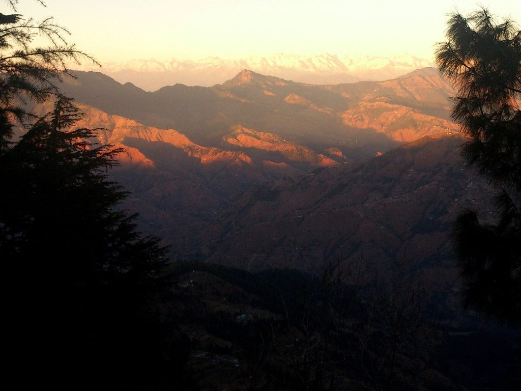 Sunset Kasauli