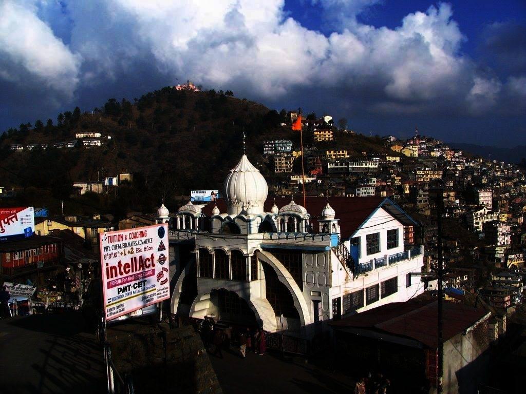 The Gurudwara in Shimla where I stayed